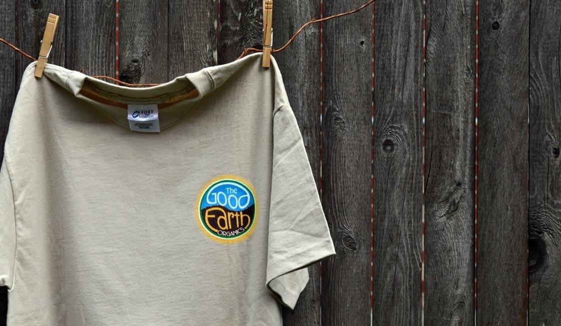 the good earth shirt design