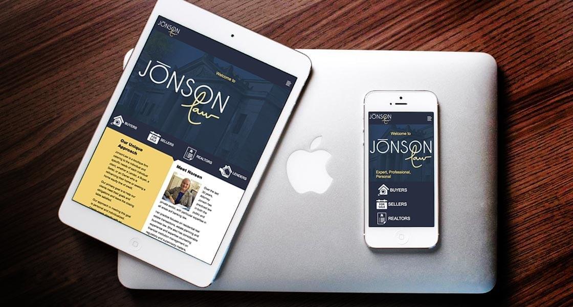 Jonson Law Responsive Website Design