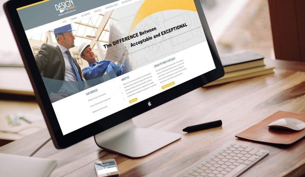 design to finish responsive website design