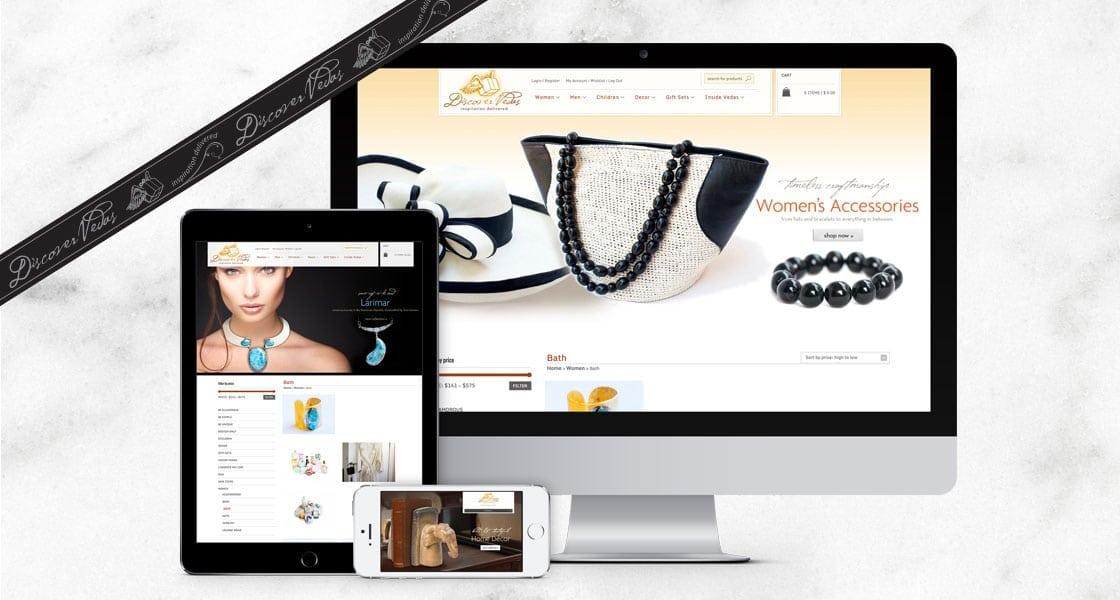 E-commerece website design