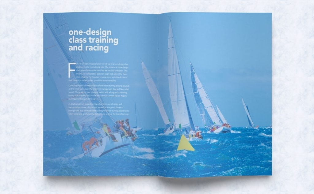 Image of beautiful brochure design created by professional graphic design firm near Quincy Massachusetts
