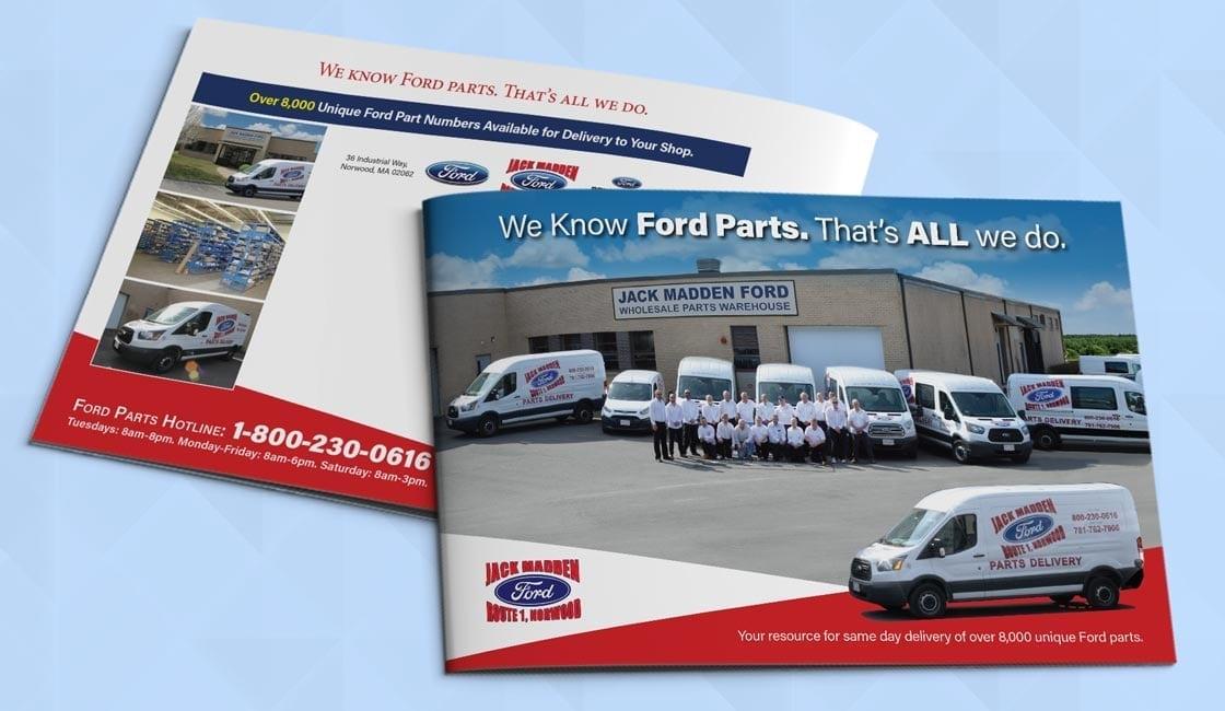 Professional Service Brochure Design
