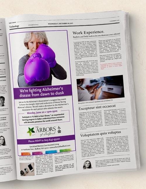 lcb flyers newspaper ad