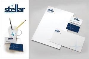 Custom brand design for building controls company