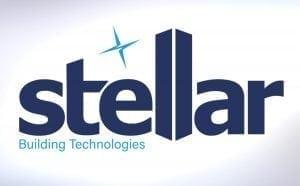stellar building technologies logo design