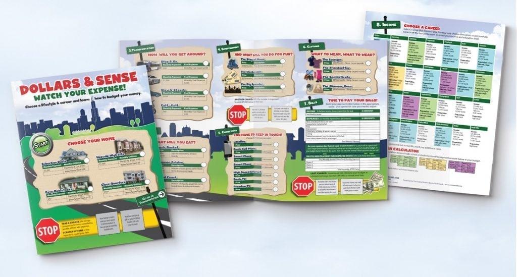 federal reserve bank of richmond custom bi-fold brochure