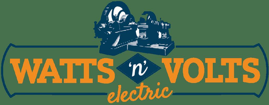 Watts n Volts Electric Logo Design