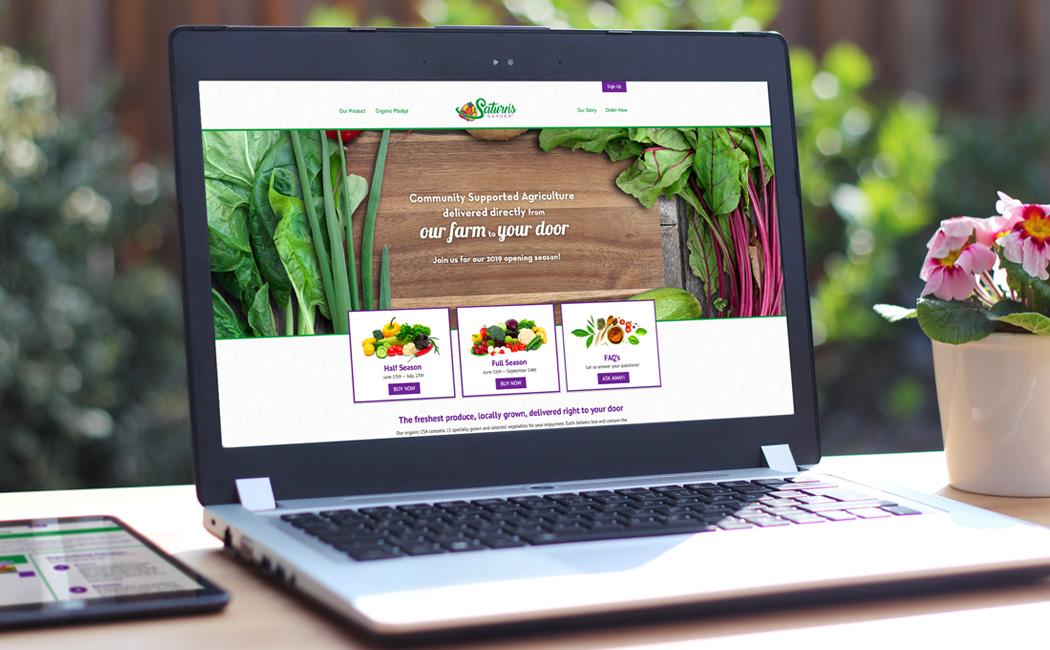 brand development, and responsive website.