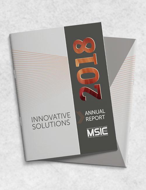 msic annual report 2018 cover design