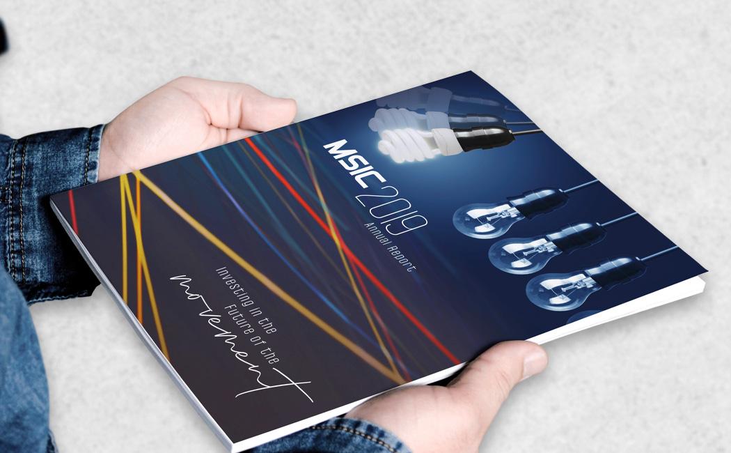 MSIC custom brochure design and graphics