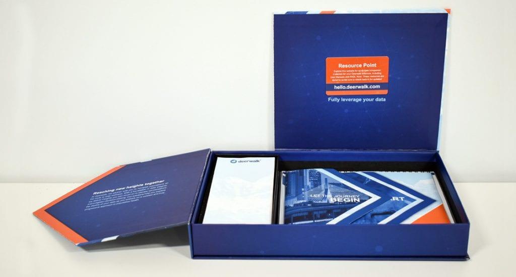 deerwalk package design branding