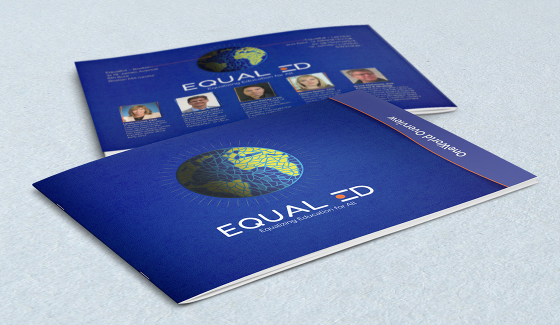 Custom Designed Bi-fold brochure