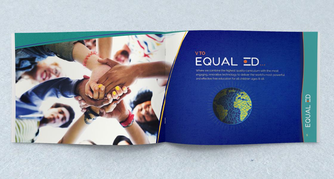 custom designed brochure