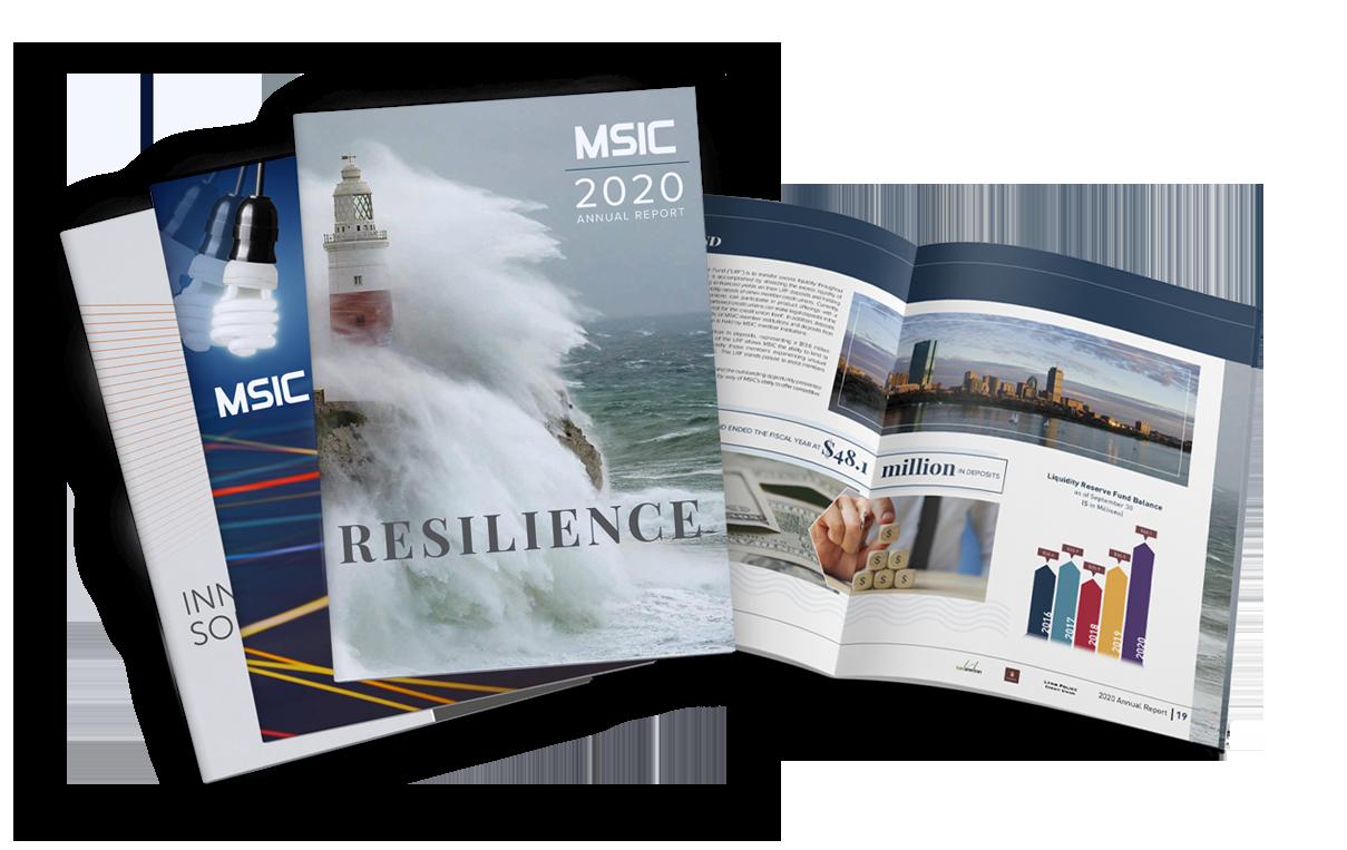 annual reports brochure design mobile