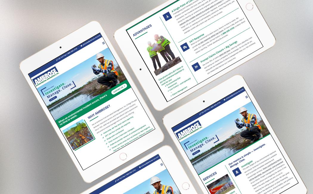 ambrose environmental management tablet website
